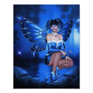Twinkly Magic Nights Canvas/Poster Print