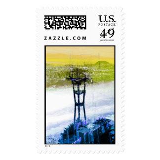 Twinpeaks Freaks Postage Stamps