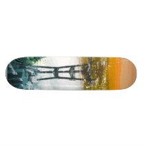 tommy, noshitsky, san, francisco, miscellaneous, Skateboard com design gráfico personalizado