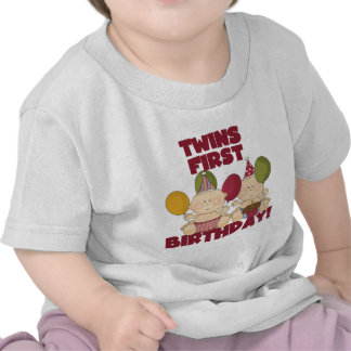 Twins 1st Birthday - Boys T-shirts and Gifts