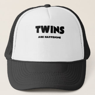 TWINS ARE HAPPENING TRUCKER HAT