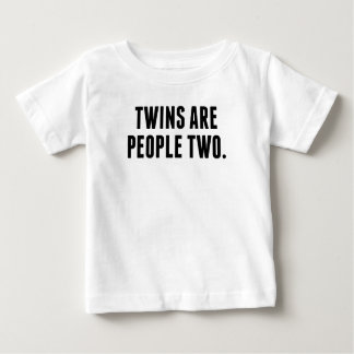 Twins Are People Two T-shirt