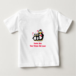Twins are two times the Love Baby T-Shirt