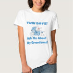 Twins-Ask About My Grandsons Tshirts and Gifts