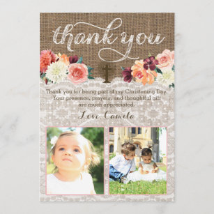 Baptism For Twins Cards Zazzle
