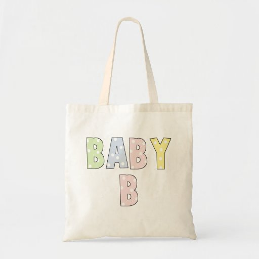 Twins Baby B Pastels Canvas Bag