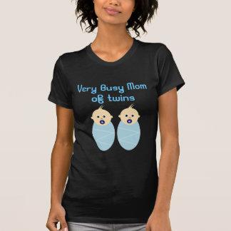 Twins Baby Boy Shower Birthday Celebration Destiny T Shirts
