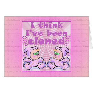 Twins Baby Gifts Card