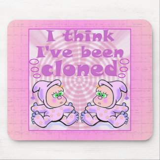 Twins Baby Gifts Mouse Pad