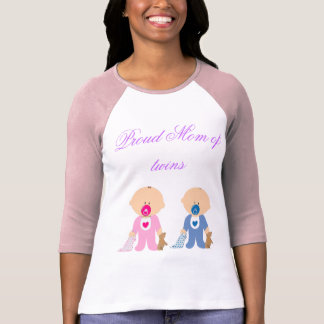 Twins Baby Shower  Children Infants Boy Girl T-Shirt