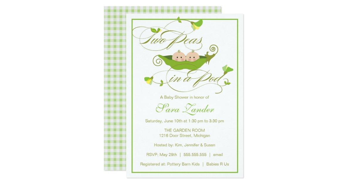Sweet Pea Baby Shower Invitations – diabetesmang.info