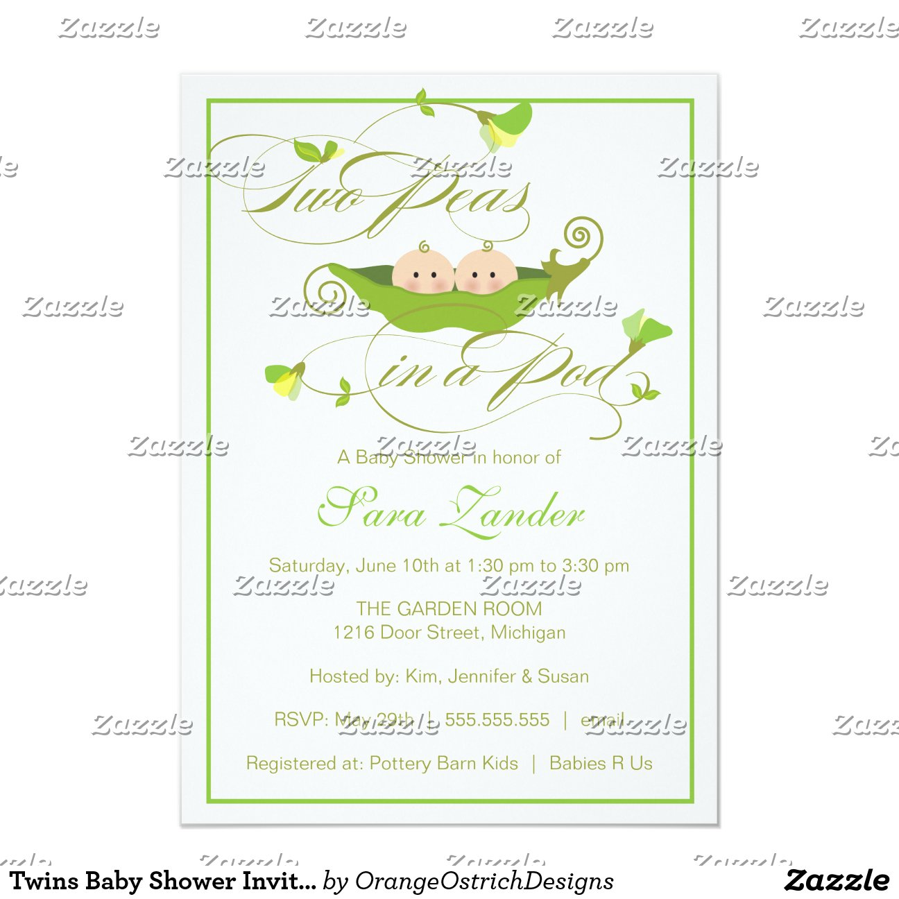twins_baby_shower_invitation_two_peas_in_a_pod ...