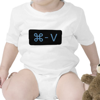 Twins Black/Blue Command - V 'Paste' Shirt