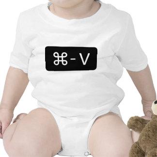 Twins Black/White Command - V 'Paste' Shirt