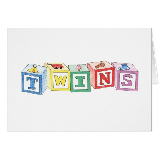 Twins Blocks Graphic Card