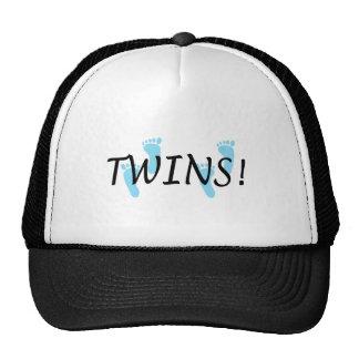 Twins (Blue Footprints) Mesh Hat