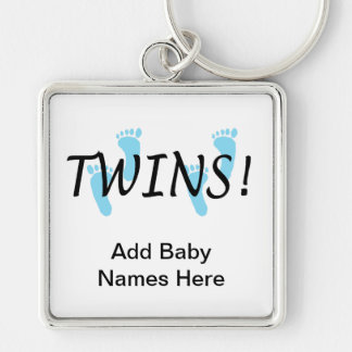 Twins (Boy) Keychain