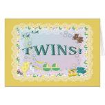 TWINS!   Card