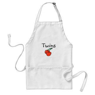 Twins (Cherries) Adult Apron