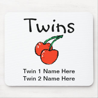 Twins (Cherries) Mouse Pad
