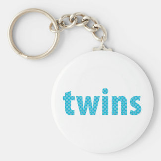 TWINS COLLECTION - boys {aqua} Key Chain