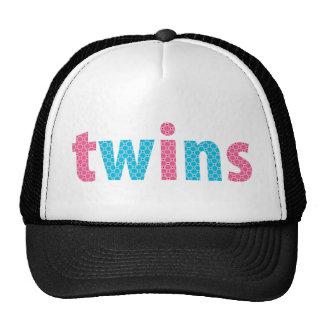 TWINS COLLECTION - mixed {aqua + pink} Mesh Hat