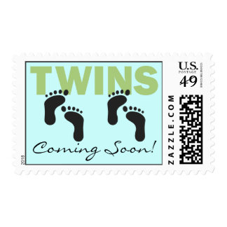 TWINS Coming Soon! Postage