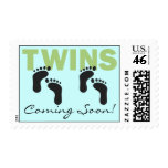 TWINS Coming Soon! Stamp