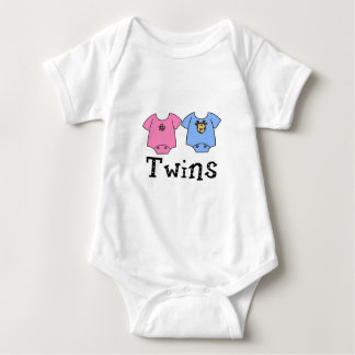 Twins Cute Bodysuit 1 girl & 1 Boy