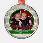Twins  First Christmas Ornament