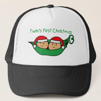 Twins First Christmas - Pod (no date) Trucker Hat