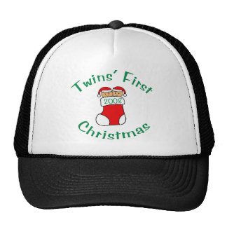 Twins First Christmas - Stocking 2008 Trucker Hat