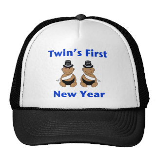 Twins First New Year AA (no date) Trucker Hat