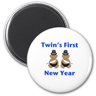 Twins First New Year AA (no date) Magnet