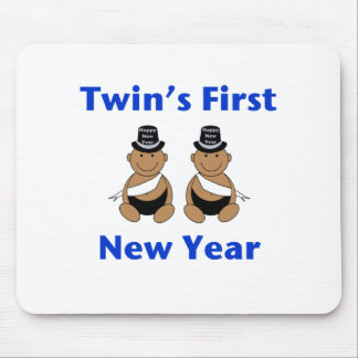 Twins First New Year AA (no date) Mouse Pad