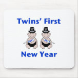 Twins First New Year Mouse Pad