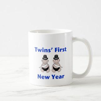 Twins First New Year (no date) Coffee Mug