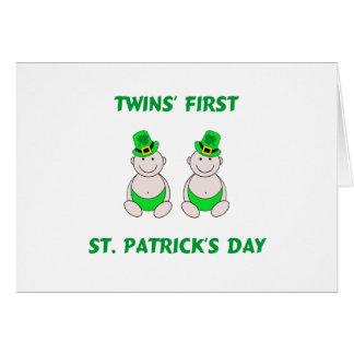 Twins First St. PatrickÕs Day Card