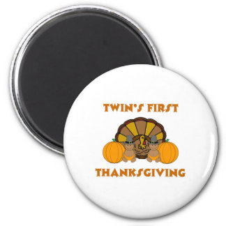 Twins First Thanksgiving AA Magnet
