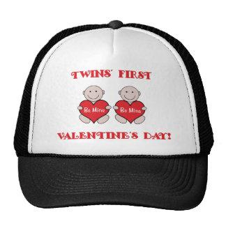 Twins First Valentines Trucker Hat
