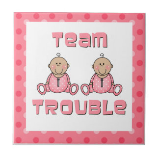 Twins Girls Tile