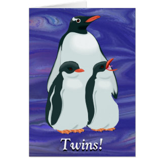 Twins! Good luck with that! Card