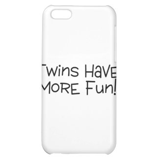 Twins Have More Fun Cover For iPhone 5C