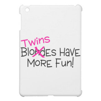 Twins Have More Fun Cover For The iPad Mini