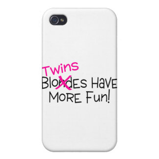Twins Have More Fun iPhone 4 Cases