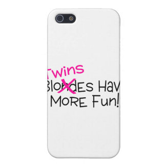 Twins Have More Fun iPhone 5 Case