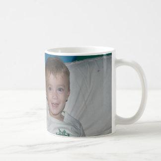 Twins in Tractor Jammies Coffee Mug