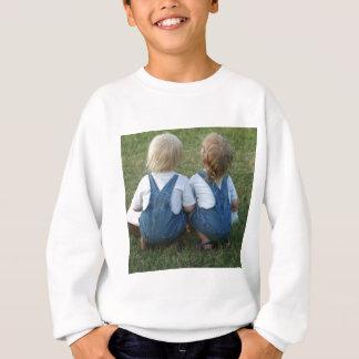 twins looking away sweatshirt