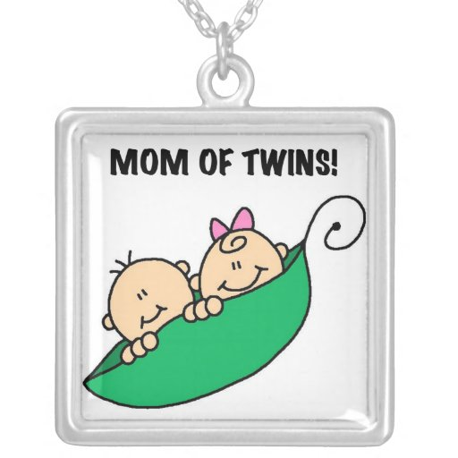 Twins Mom- Peas in a Pod Gifts Jewelry