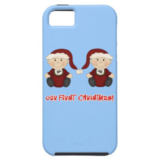 Twins:  Our First Christmas Customizable iPhone SE/5/5s Case